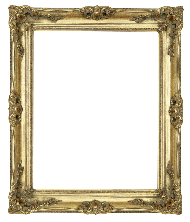 the frame is as important as the picture